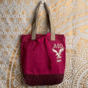 American Eagle Outfitters cotton canvas tote